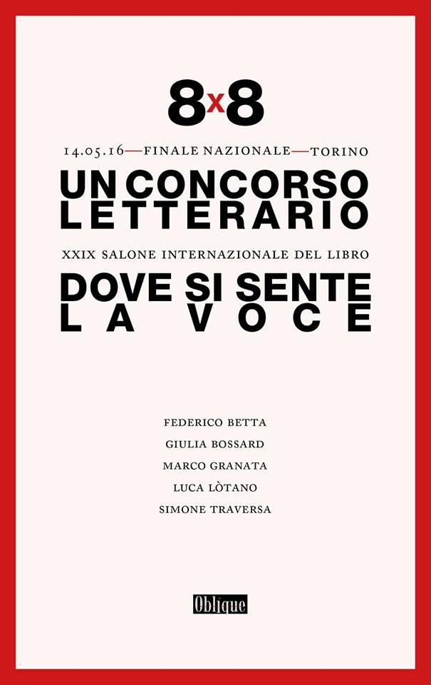 8×8 al Salone del Libro di Torino