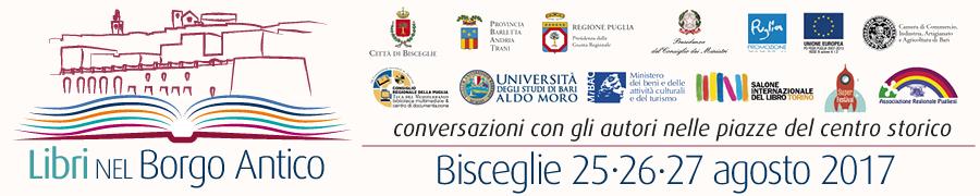 """Festival """"Libri nel Borgo Antico"""" 25/26/27 agosto – Bisceglie"""