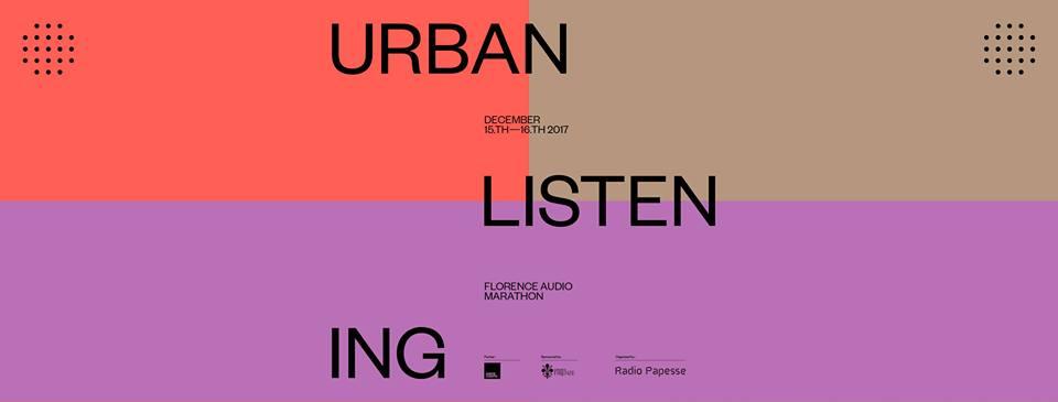 Urban listening – Florence audio marathon