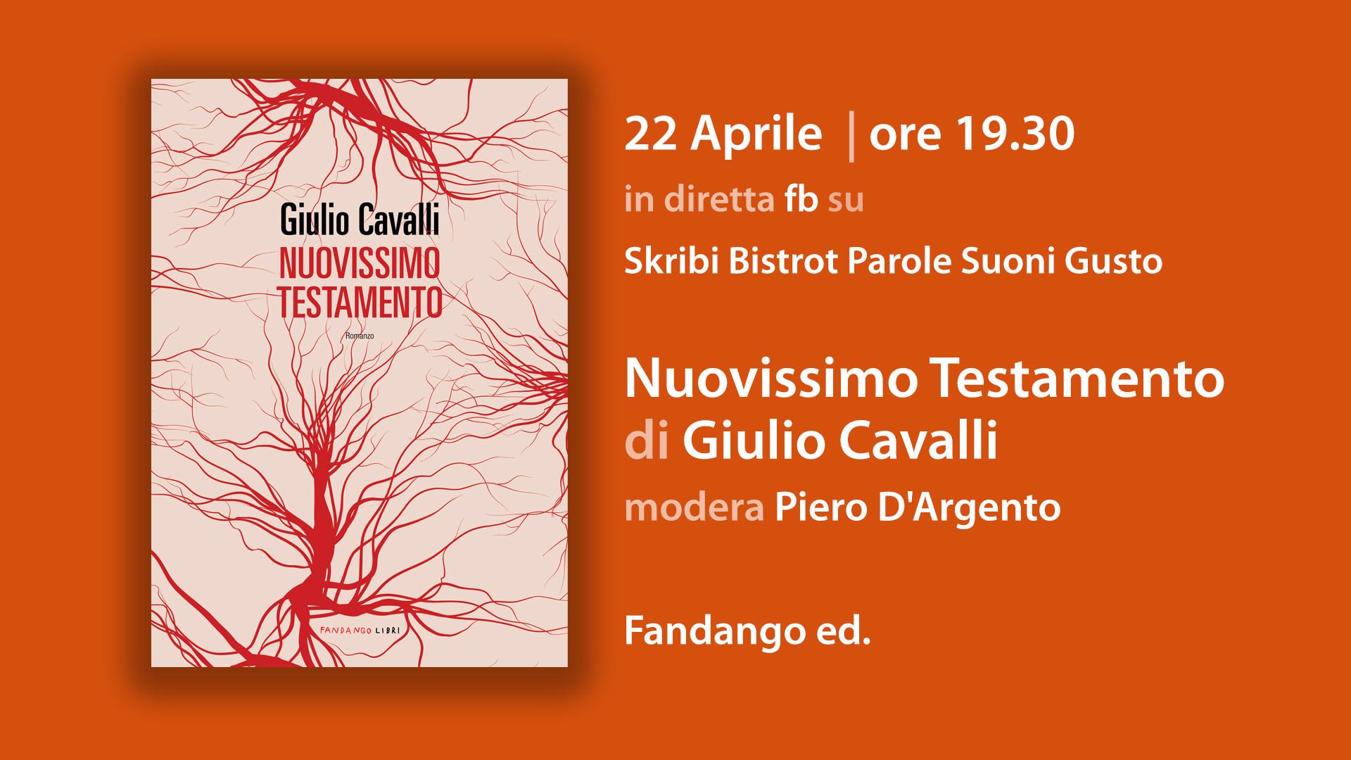 Nuovissimo testamento_presentazione con Giulio Cavalli